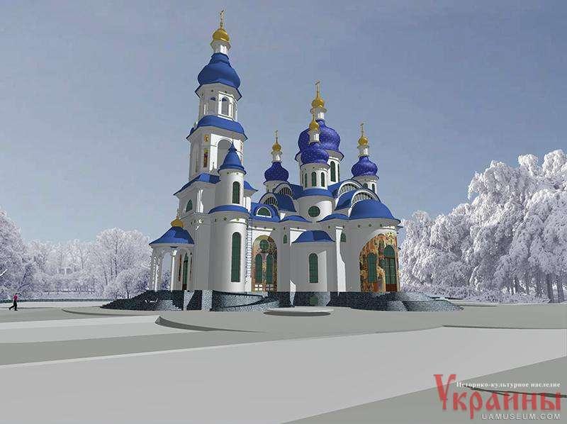 Храм в честь великомученика георгия победоносца петриковка