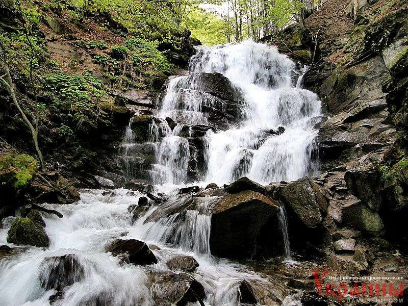 5 самый высокий водопад юга россии